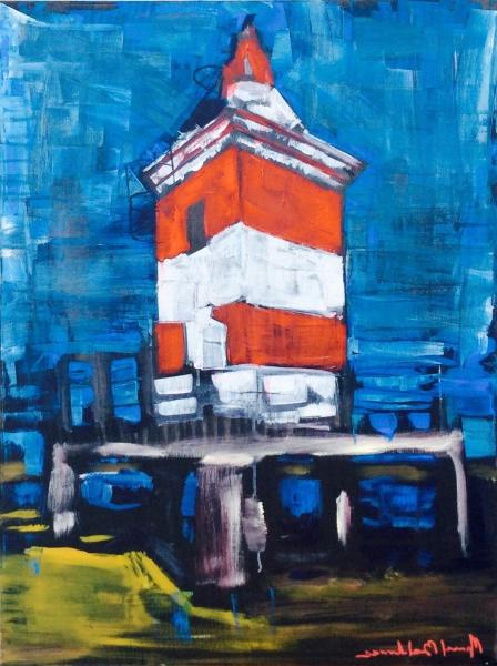 il faro di Lignano - Manuel Baldassare Artist 2019