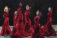 flamencas - Manuel Baldassare Artist 2016