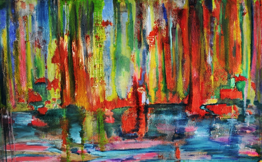 Back to the woods Manuel Baldassare Artist 2015