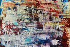 paesaggio innevato in decostruzione - Manuel Baldassare Artist 2019