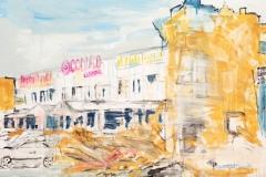 la devastazione post uragano - Manuel Baldassare Artist 2016