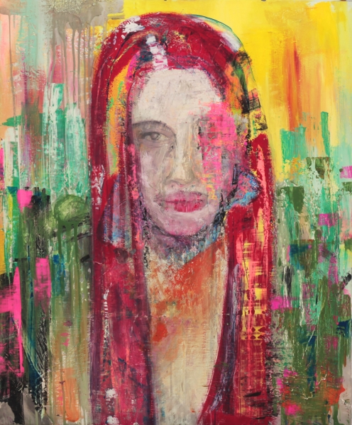 donnaconfondoingiallo - Manuel Baldassare Artist 2016