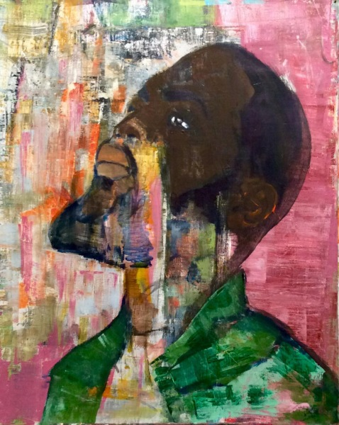 black panther - Manuel Baldassare Artist 2019