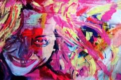 a blonde girl - Manuel Baldassare Artist 2019