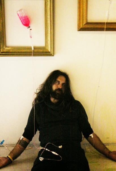 Manuel Baldassare performer - reanimated 2013 - Biennale di Venezia 2013