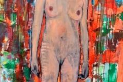 Donna con sguardo intenso Manuel Baldassare Artist 2019