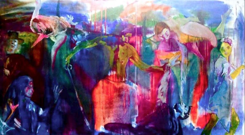 il-martirio-di-san-matteo-Manuel-baldassare-artist-2020